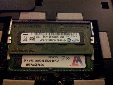Toshiba Satellite C660D Memory Upgrade
