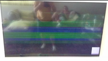 Samsung UE55KU6400 defect picture on external HDMI source
