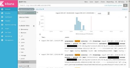 Kibana Docker Container HAProxy logs