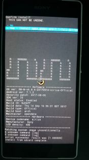 Installing Open Gapps on Sony Xperia Z2