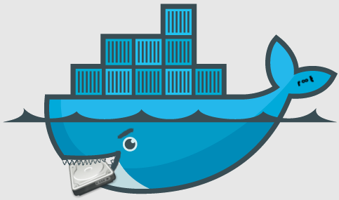 Docker application container eating up disk space