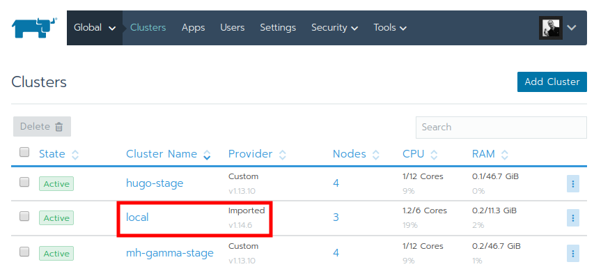 ck :: How to upgrade Kubernetes version in a Rancher 2
