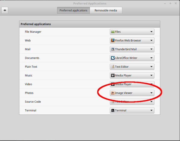 Linux Mint 18.3 preferred applications