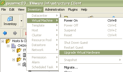 ck :: vmware: snapshot function disabled  not possible to