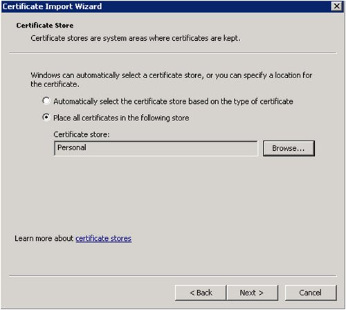 ck :: How to import SSL Certificates in Windows Server 2003/2008 and ...
